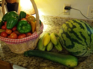 Harvests are much smaller this year.